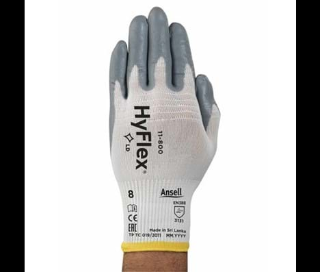 Ansell Hyflex 11-800 maat 10 tricot/nitril