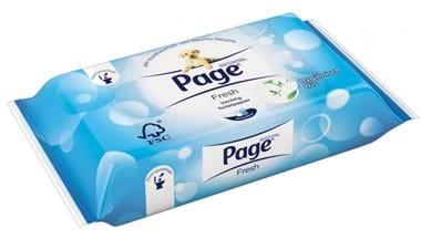 Page Vochtig Toiletpapier.Page Vochtig Toiletpapier Navulling 42vel Carel Lurvink
