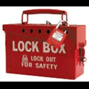 Brady 13 lock box red