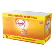 Robijn wascapsules XXL color 80 capsules