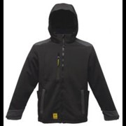 Regatta Enforcer softshell jas zwart S