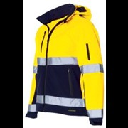 Tricorp softshell jack XS bicolor geel-navy