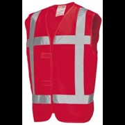 Tricorp reflectie vest maat M rood