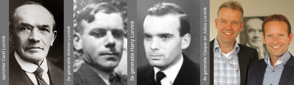 4 generaties Carel Lurvink